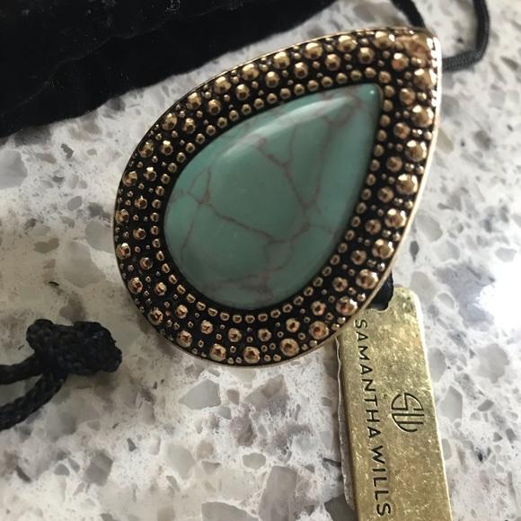 Australian designer Samantha Wills Turquoise Ring